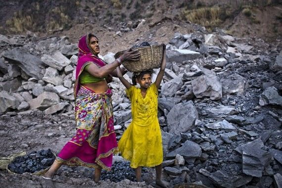 Coal Mining In India's Jharia