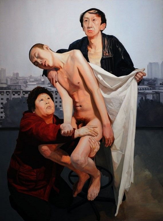 Modern Chinese Oil Painting Exhibit Goes On Display In China
