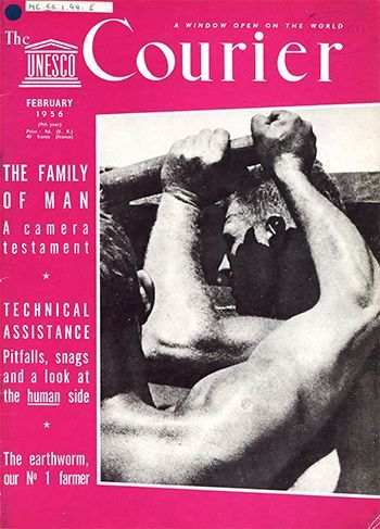 The Family of man: a camera testament; The UNESCO Courier: a win