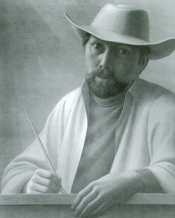 Self Portrait. Artwork by George Tooker